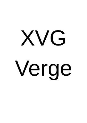 1100 VERGE directly to your wallet. Better than Bitcoin or Ethereum. LONG TERM.