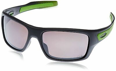 OO9263-27  Mens Oakley Turbine Sunglasses Matte Dark Grey Prizm Daily  Polarized 4034cfd17cd4