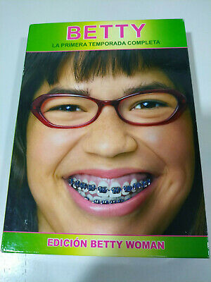 Ugly Betty Ugly Betty Season 1 Complete 6 Dvd Edition Betty Woman Ed Spain