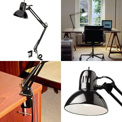 touch desk dimmer s p arm swing lamp metal clamp led architect amico lamps task