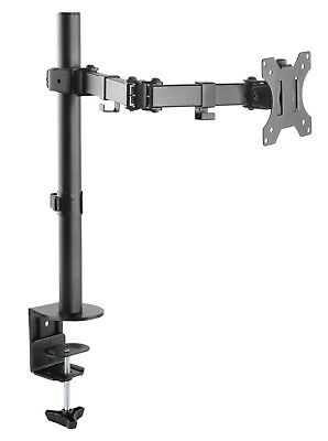 """Emperial Single Arm LCD LED Monitor Desk Mount Stand for Computer 13-32"""" Screens"""