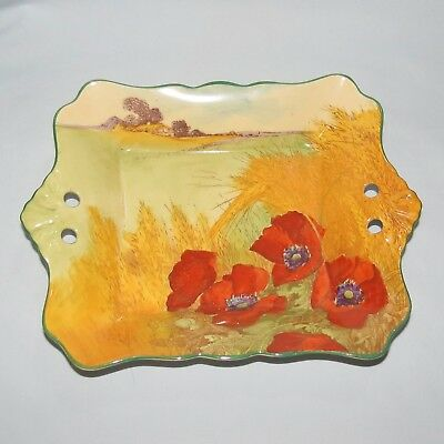 ROYAL DOULTON seriesware POPPIES IN A CORNFIELD WHEATFIELD TRAY D5097