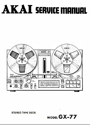 AKAI GX-77 STEREO Reel to Reel Tape Recorder Service Manual ... on shimano parts schematics, engine schematics, electric schematics, daiwa parts schematics, wire schematics, abu garcia schematics, ambassadeur 6500 striper drag schematics, trailer schematics,