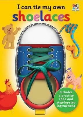 NEW I Can Tie My Shoelaces By Nat Lambert Novelty Book Free Shipping