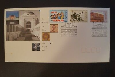 Day Cover - Australia - 1991 - In Memory of Those Who Served 1941