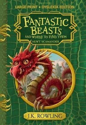 NEW Fantastic Beasts and Where to Find Them By J.K. Rowling Paperback
