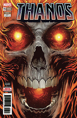 THANOS #15 2ND PRINT Variant Cosmic Ghost Rider Comics NM Presale 2/24/2018