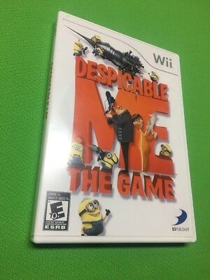 Despicable Me: The Game Nintendo Wii Complete Tested Fast Shipping!!!