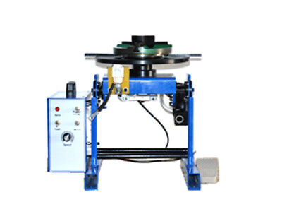 New 110V Machine 50KG Duty Welding Positioner Turntable Timing with 200mm Chuck