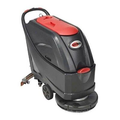 VIPER AS5160T Battery Operated Medium Size Walk Behind Scrubber Dryer