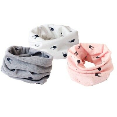 Baby Kids Toddler Girl Boy snood scarf Neck Warmer Knitted Neck Scarf Shawl