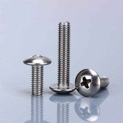Metric G304 Stainlee Steel Truss Head Phillips Machine Screws Bolts M5/M6