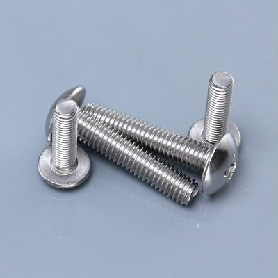 Metric G304 Stainlee Steel Truss Head Phillips Machine Screws Bolts M4/M5