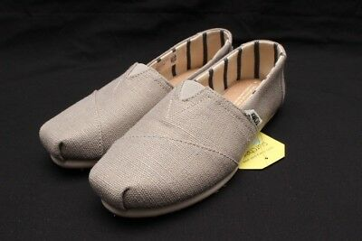 6bc683e6ef3 Womens Toms Classic Canvas Slip On Morning Dove Heritage Canvas 10011665