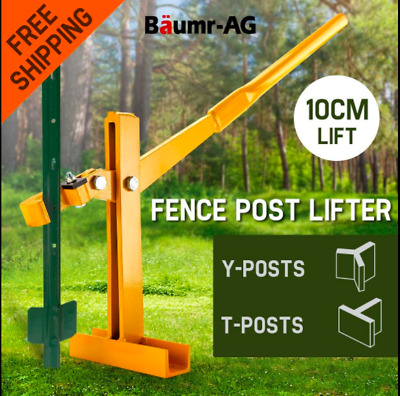 Lifter Puller Fence Post 10cm lift #40 Steel Remover Star Picket Steel Pole Tool