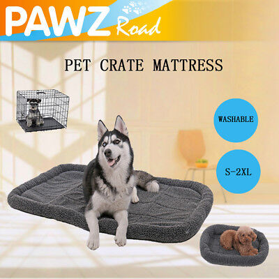 Pet Dog Crate Mattress Cage Kennel Cushion Bed Large Dog Washable Soft Pad S~2XL