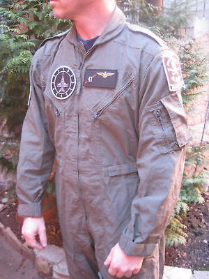 Original U.s. Air Force Fliegerkombi Overall Top Gun Karneval Fasching Gebr.