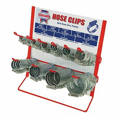 Hoseclip Display C/W Stock 100Pc by Faithfull