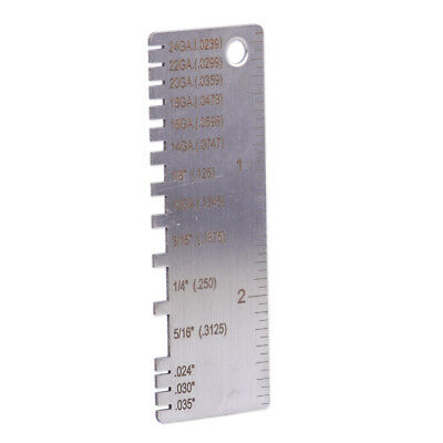 Wiremetal sheet thickness gauge 229895 welding gage plated size wiremetal sheet thickness gauge 229895 welding gage plated size inspection tool greentooth Image collections