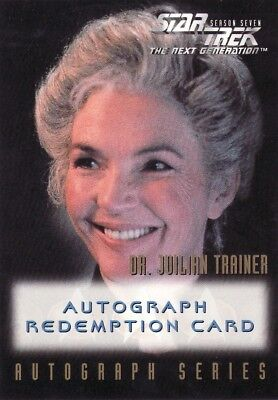 Star Trek TNG Season 7 Fionnula Flanagan Unreleased Redemption Card
