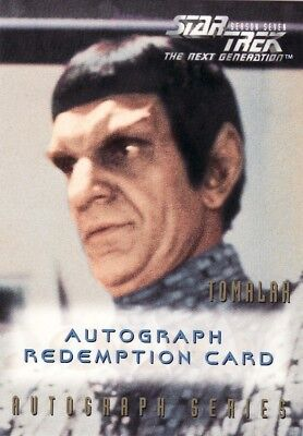 Star Trek TNG Season 7 Andreas Katsulas Unreleased Redemption Card