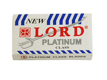 100 x Lord Platinum Class Safety Razor Blades
