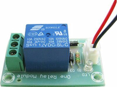 Yeeco MK118 10A Relay Module 12V Power Supply Output 1 Channel Isolation