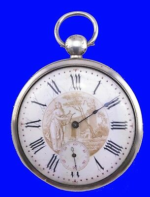 Substantial French Virgule L'Epine calibre Ultra-Thin PolyChro Pocket Watch 1785