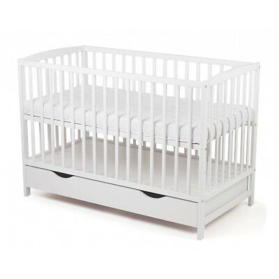 A Beautiful Classic Bed with a drawer Wooden Crib Baby bed cot Children bedroom