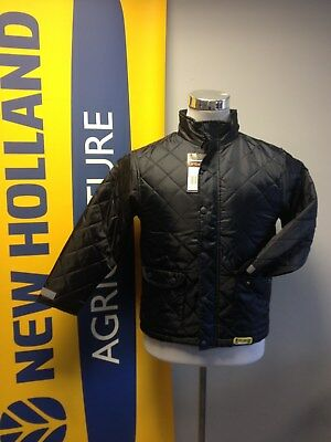 Result Children's New Holland Logo Quilted / Padded Jacket