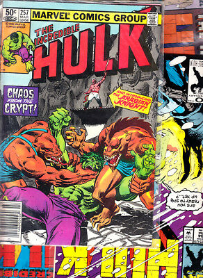 Marvel  Hulk ( Lote 7 Numeros ) Marvel Original En  Ingles...