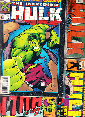 Marvel  Hulk ( Lote .6. Numeros ) Marvel Original En  Ingles...