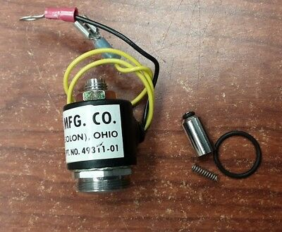 Hunter MFG. CO. Solenoid Valve PT. NO. 49311-01