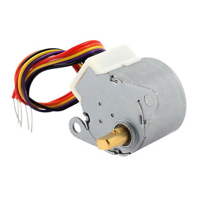 DC 12V CNC Reducing Stepping Stepper Motor 0.6A 10oz.in 24BYJ48 Silver FP