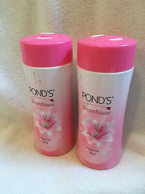 2 X PONDS Dreamflower Fragrant Talc 100g each