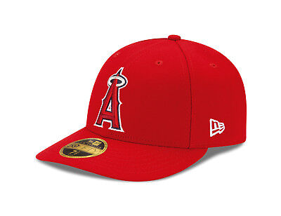 New Era 59Fifty MLB Cap Los Angeles Angels of Anaheim Low Profile Men Fitted Hat