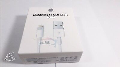 2M/6feet New OEM Apple Lightning USB Cable Charger iPhone  X 8 7 6 6S Plus 5C