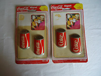 Coca-Cola Collectible Magnets - Lot of 2