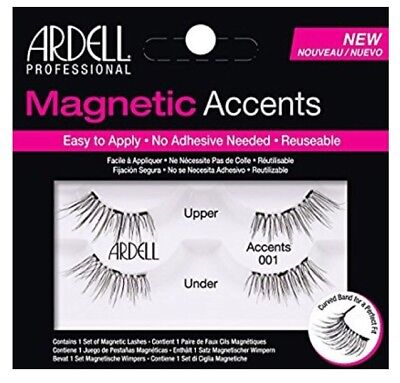 4f66a998827 Ardell Magnetic Lash Accents 001 Fake False Lashes MUA Makeup Glam Beauty  Party