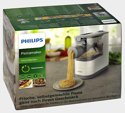 ✿ Philips Viva Collection Pastamaker 150 W Pasta Maker Vollautomatisch  Hr2332 ✿
