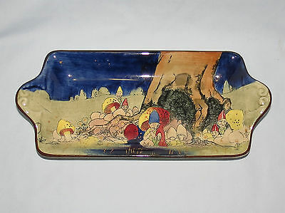 exceptional rare Royal Doulton seriesware tray GNOMES B D4697