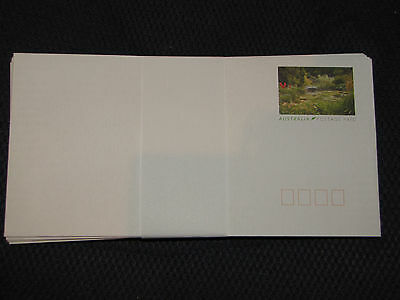 100 x Australia Post Prepaid Envelopes-DL Plain BRAND NEW **FREE POSTAGE**