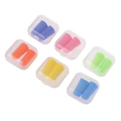 3Pair Silicone Soft Ear Plugs Sleeping Hearing Protection Noise Reduction