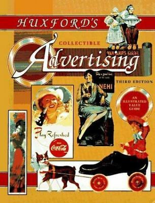 Huxford's Collectible Advertising (3rd ed)-ExLibrary