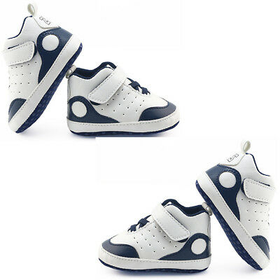 Newborn Infant Baby Boy Girl Sport Shoes Crib Shoes Soft Sole Anti-slip Sneakers