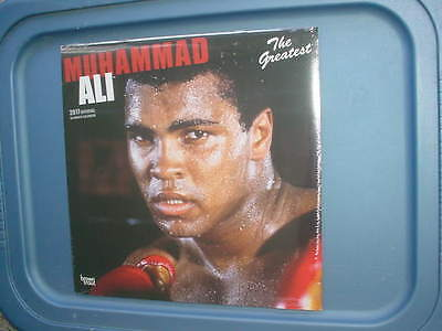 Boxing Muhammad Ali the greatest 2017 Calendar 18 month Sealed color cover