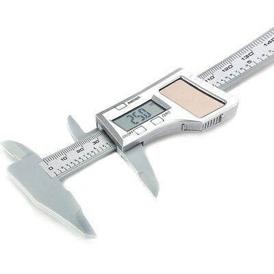 "LCD Electronic Digital Gauge Carbon Fiber Vernier Caliper 150mm 6"" Micrometer"