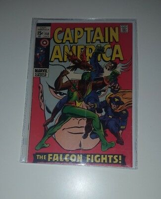 Captain America No. #118 Second 2nd Appearance The Falcon FN