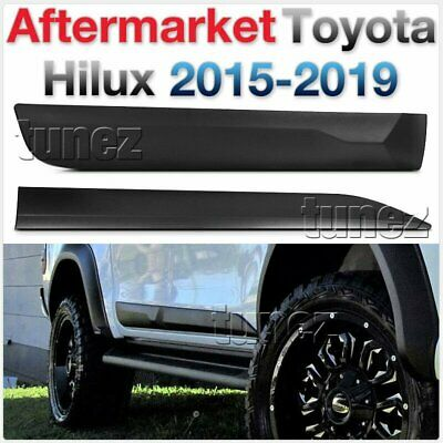 Door Guard Side Panel Protector Cladding For Toyota Hilux SR SR5 TRD GUN GUN1 OZ