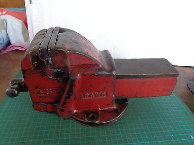 Vintage DAWN 4SP bench vice